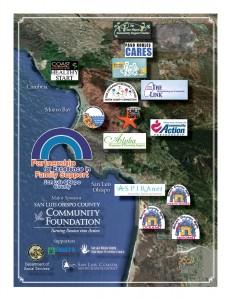 PEFS Map Locations in San Luis Obispo