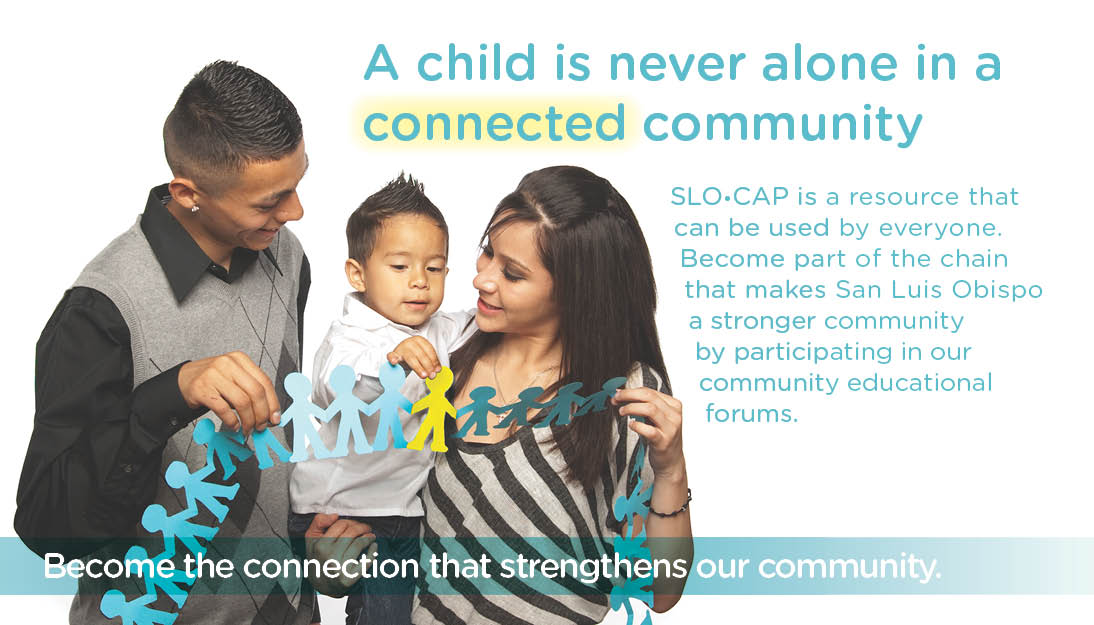 A child is never alone in a connected community