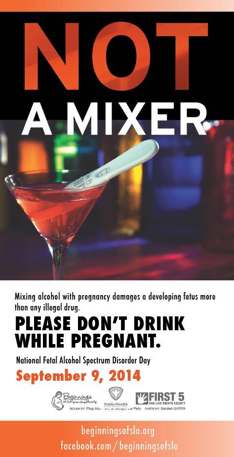 Fetal Alcohol Spectrum Disorder Day September 9th 2014